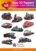 Easy 3D-Toppers Locomotives