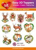 Easy 3D-Toppers Deer - Forest