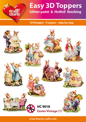 Easy 3D-Toppers - Easter Vintage (1)