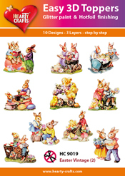 Easy 3D-Toppers - Easter Vintage (2)