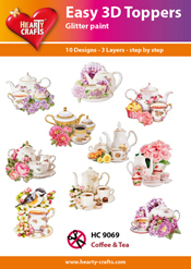 Easy 3D-Toppers Coffee & Tea