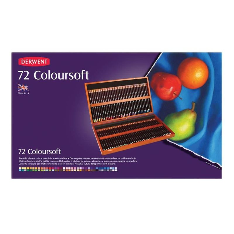 Derwent Coloursoft 72 st doos DCS0701031