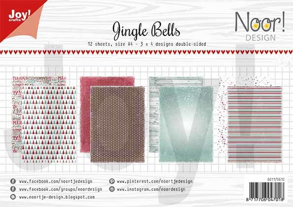 Papierset - Noor - Design Jingle bells