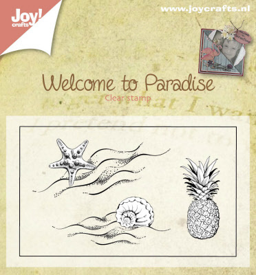 Stempel - Welcome to paradise - klein