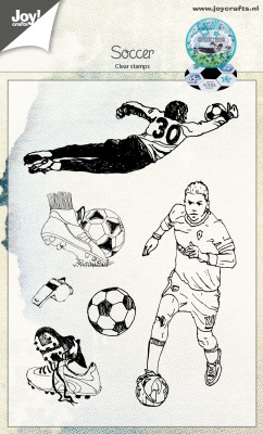 Clear stempel - Voetbal