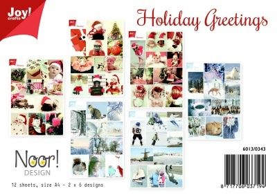 Knipvellen - Holiday Greetings A4
