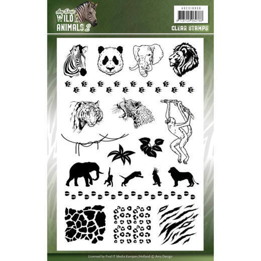 Clear Stamps - Amy Design - Wild Animals 2