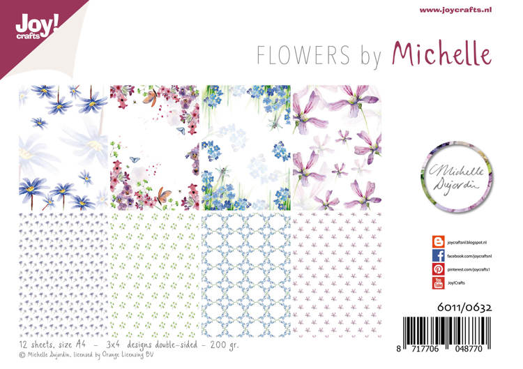 Papierset - Design - Michelle's flowers