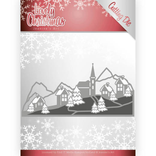Dies - Jeanine's Art - Lovely Christmas - Lovely Christmas Landscape