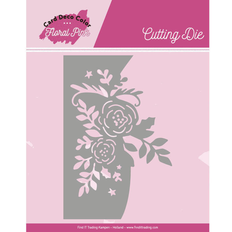 CDCCD10002 Dies - Yvonne Creations - Floral Pink - Floral Pink Roses