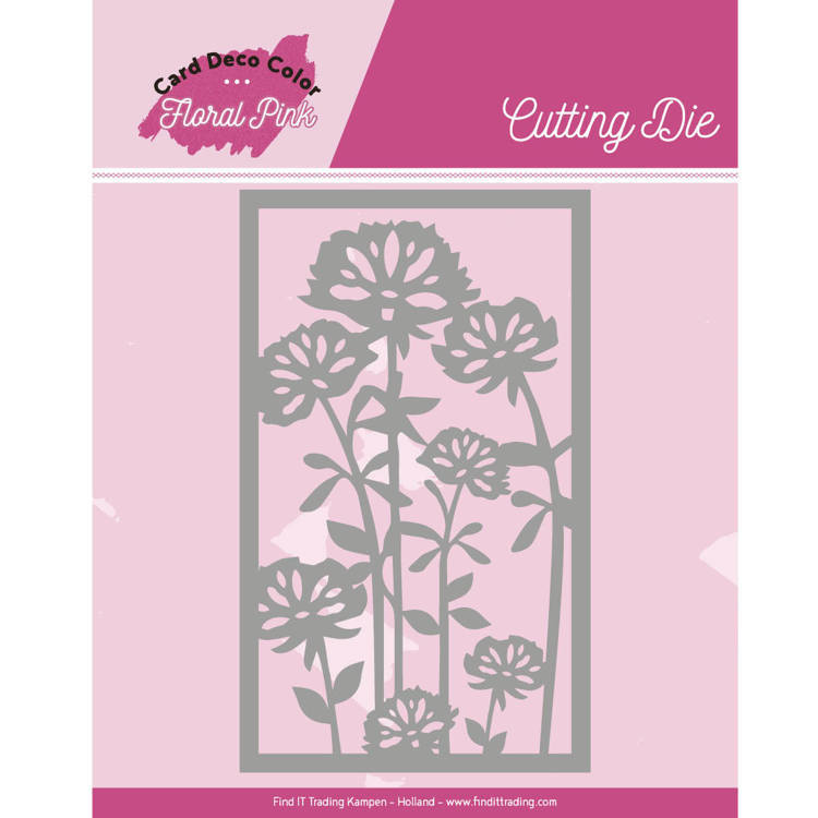 CDCCD10003 Dies - Yvonne Creations - Floral Pink - Floral Pink Frame