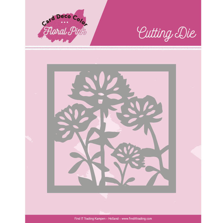 CDCCD10005 Dies - Yvonne Creations - Floral Pink - Floral Pink Square