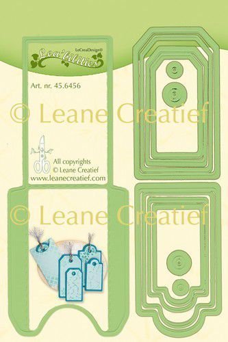 Leabilitie® Pocket & Labels snij en embossing mal