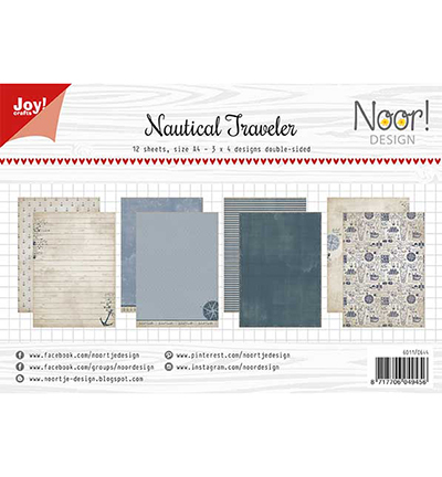 Papierset - Noor - Design Nautical Traveler