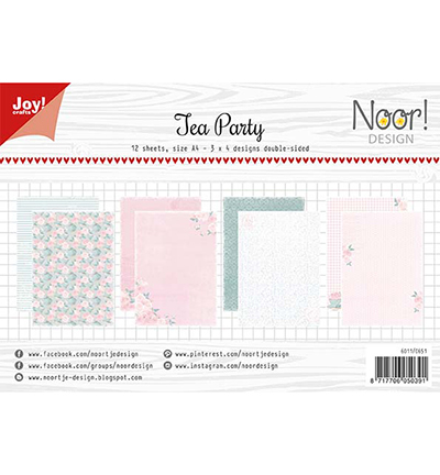 Papierset - Noor - Design Tea Party