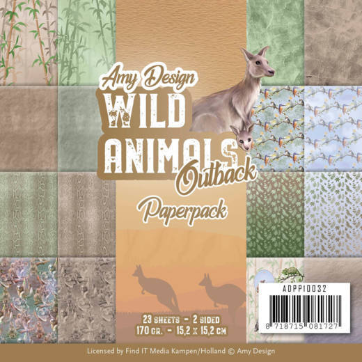 Paperpack - Amy Design - Wild Animals Outback