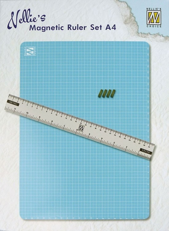 Magnetic Ruler set A4
