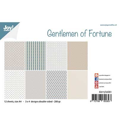 Papierset - Design - Gentlemen of Fortune