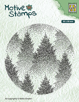Texture Clear Stamps Misty Forest