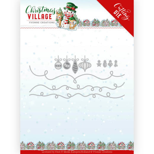 Dies - Yvonne Creations - Christmas Village - Christmas Lights