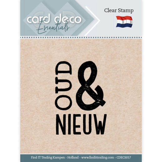 Card Deco Essentials - Clear Stamps - Oud & Nieuw