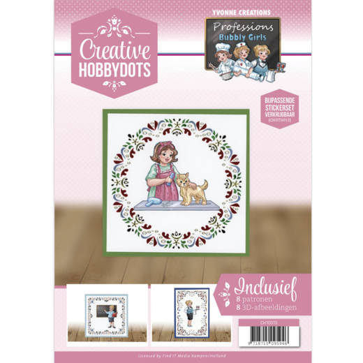 CH10013 Creative Hobbydots 13 - Yvonne Creations - Bubbly Girls - Professions